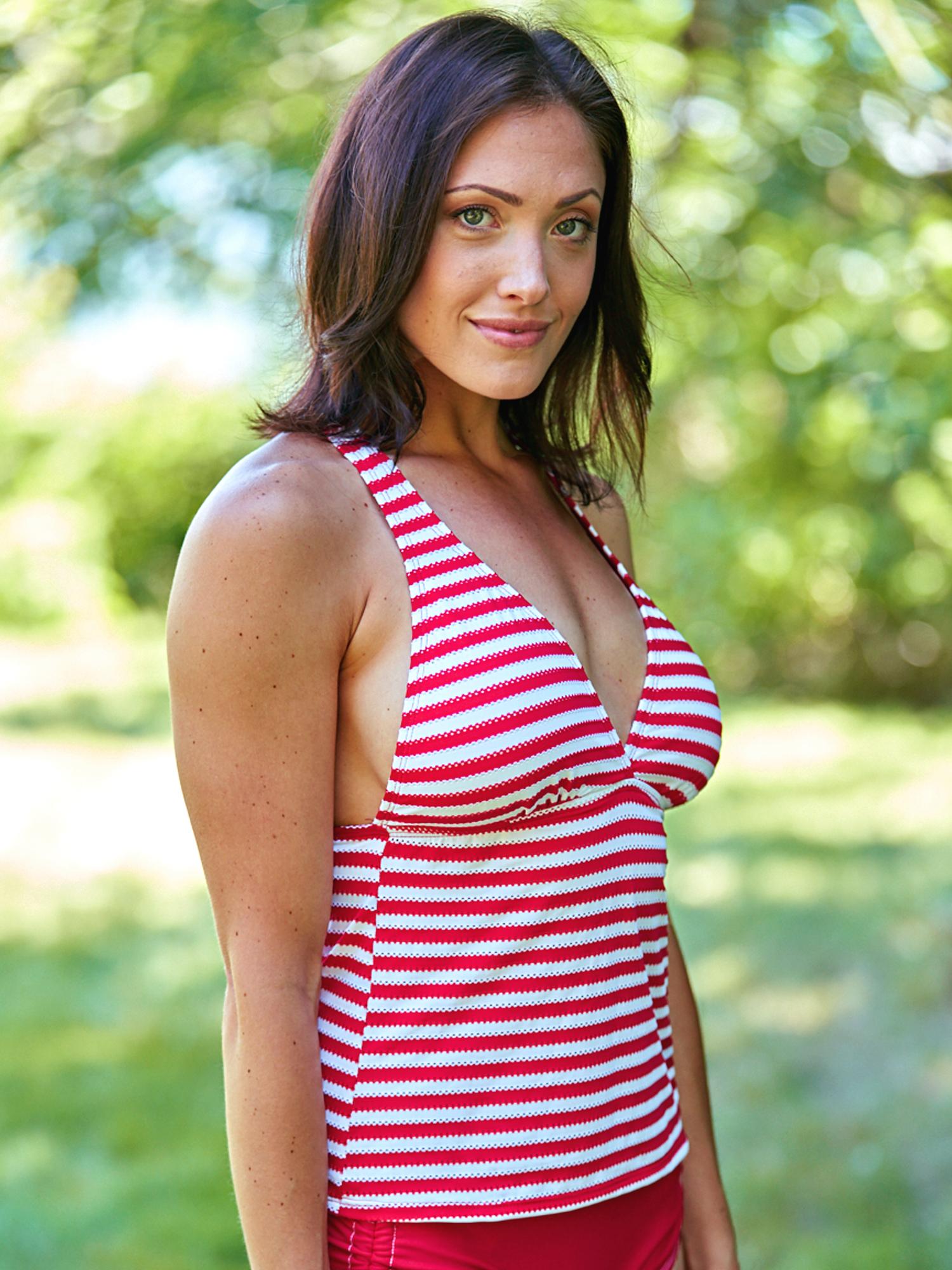 White   Womens ONeill Tops SHANA Naked   News As Rx