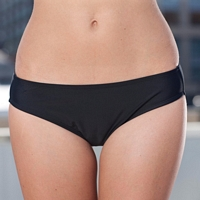 Hipster Bottom Bathing Suit - Black