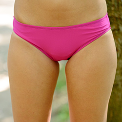 Hipster | Swimsuit Bottom | Bright Pink