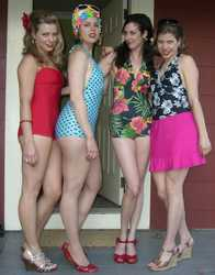 Retro Vintage Swimwear Photo